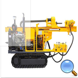 China 300m Mud Pump Crawler Drilling Rig Exploration Well Drilling Rig supplier