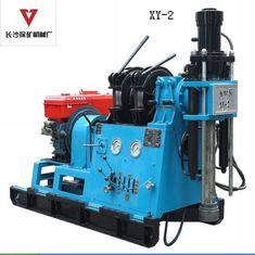 China 200m - 250m Prospecting Water Well Drilling Machine Oil Hydraulic Feed System supplier