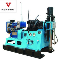 China Mining And Geotechnical Drill Rig With Diamond Core / Twin Cylinder supplier