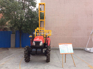 China Geophysical Hydraulic Drilling Rig 100m Crawler Shallow Sampling Drilling supplier