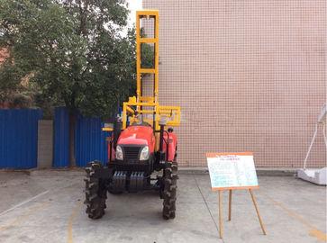 China Geophysical Hydraulic Drilling Rig 100m Crawler Shallow Sampling Drilling supplier