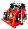 China 100m Rotary Trailer Mounted Water Well Drilling Rigs With Mud Pump factory