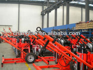 China 150m SPT Portable Core Geotech Engineering Drilling Rig 2 Wheels Trailer factory