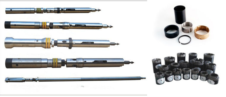 Wire line Double Tube Core Barrels Drilling Rig Tools 3m /1 5m