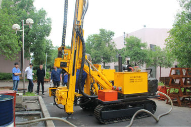 Reliable 300m Crawler Drilling Machine Dth , Air Compressor CYG300
