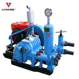 BW250 Horizontal Triplex Drilling Rig Mud Pumps With L28 Diesel Engine