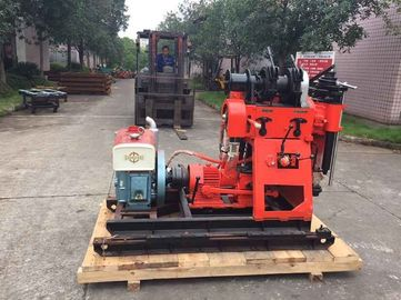 Diamond Core Portable Water Drilling Rig / Rock Core Drilling Machine For Exporting