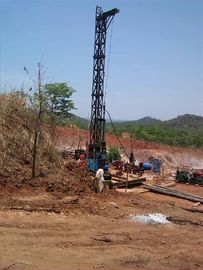 Gold Mining Core Exploration Drill Rigs Deep 2600m Multiple Speed