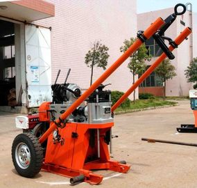 150m Depth Geotechnical Portable Drilling Rig Machine / Rotary Drilling Rig