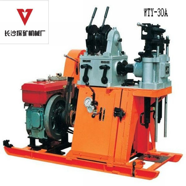 Engineering Geotechnical Drilling Equipment With Driling Capacity 30m