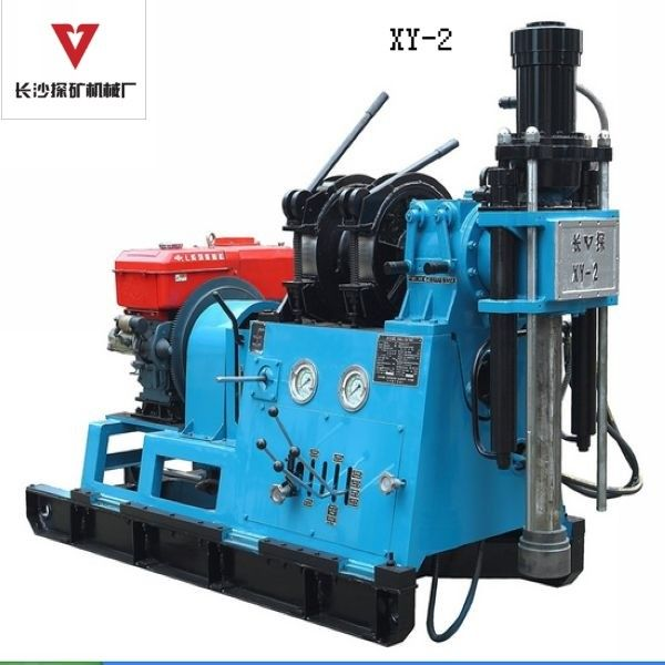 Geotechnical Core Drill Rig Machine 200m - 250m Rotary Rig Machine XY-2